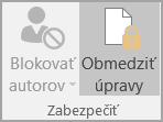 Možnosti zabezpečenia dokumentu