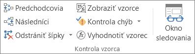 Skupina Kontrola vzorca na karte Vzorec