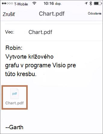 Odoslanie e-mailu s priloženou fotografiou