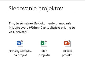 Vkladanie súborov na stranu vo OneNote pre Windows 10