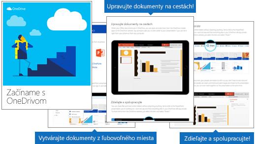 Elektronická kniha Začíname používať OneDrive