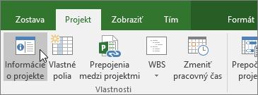 Informácie oprojekte