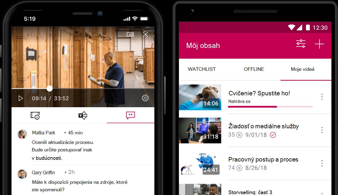 Mobilná aplikácia Stream