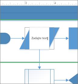 Pridanie textu do tvaru