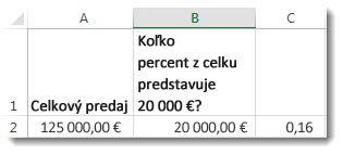 125 000 € v bunke A2, 20 000 € v bunke B2 a 0,16 v bunke C3
