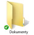 Prekrytie zelenej ikony synchronizácie pre OneDrive