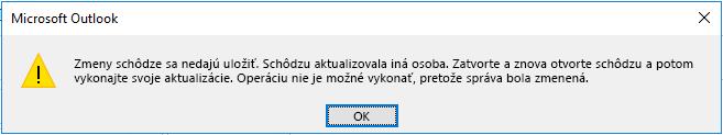 Dialógové okno chyby
