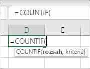 Syntax vzorca ako text pri ukázaní myšou