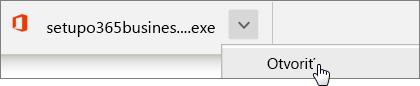 Stručný návod pre zamestnancov: Stiahnutie v prehliadači Chrome
