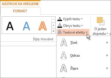 Formátovanie textu
