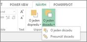 Usporiadanie poradia vizualizácie vo funkcii Power View