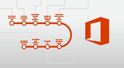 Plagát vzdelávania služieb Office 365