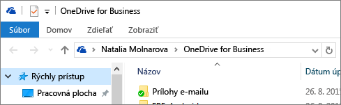 Starší počítačový klient pre OneDrive for Business