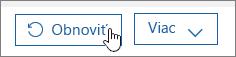 Obnovenie používateľa vslužbách Office 365