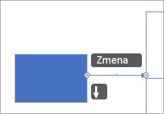 Presunutie spojnice ojeden pixel
