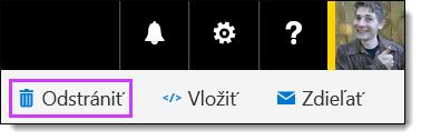 Odstránenie videa v službách Office 365 Video