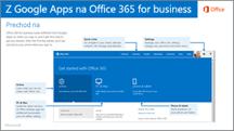 Miniatúra príručky na prechod zGoogle Apps na Office 365
