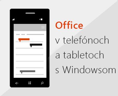 Kliknutím nastavte mobilné aplikácie balíka Office vzariadení sWindowsom 10