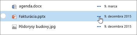 Názov súboru v knižnici dokumentov