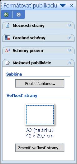 Formátovanie publikácie