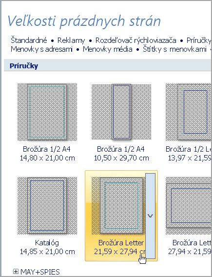 Listová brožúra