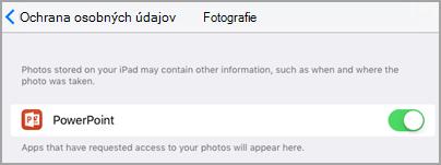 Prístup k fotografiám