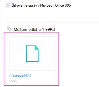 Zobrazovač OME so službou Yahoo Pošta v zariadení s Androidom 1