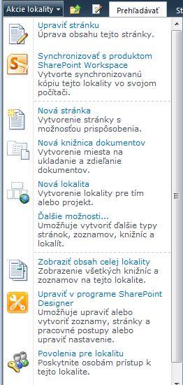 Prepojenie povolení na lokalitu