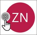 Vyberte ikonu fotoaparátu apridajte fotografiu