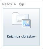 Dlaždica knižnice obrázkov