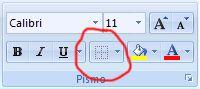 Obrázok pása s nástrojmi Excelu