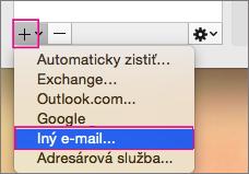 Iný e-mail