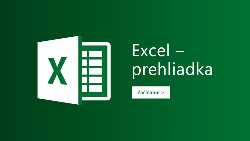 Preskúmajte šablóny pre Excel