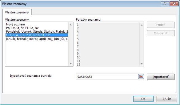 vytvoriť vlastné dátumové údaje stránky