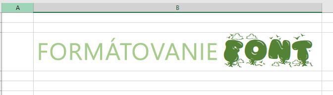 Používanie písma vo formáte RTF vo viacerých typoch formátovania textu