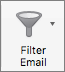 Tlačidlo Filter pošty