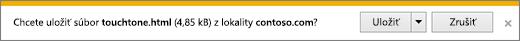 Výzva na stiahnutie prehliadača Internet Explorer