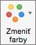 Na karte Návrh grafu vyberte položku Zmeniť farby
