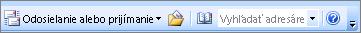 Nezahrnúť pôvodnú adresu vyhľadávanie programu Outlook 2007