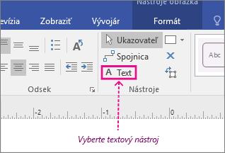 Nástroj na písanie textu