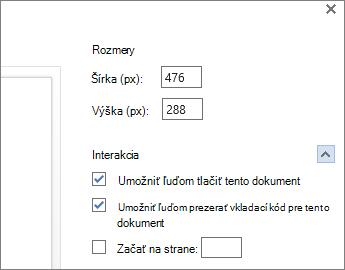 Možnosti vloženia wordového dokumentu