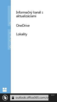 Zoznam lokalít SharePoint vmobilnom zariadení