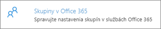 Skupiny v Office 365