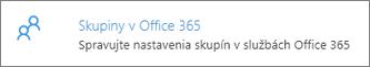 Skupiny v Office 365
