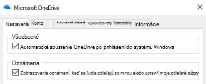 Ak chcete vypnúť všetky oznámenia pre zdieľané súbory vo OneDrive, prejdite do nastavení aplikácie OneDrive a vypnite ich.
