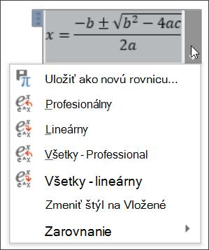 Všetky lineárne rovnice