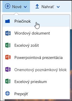 Nový priečinok knižnice dokumentov