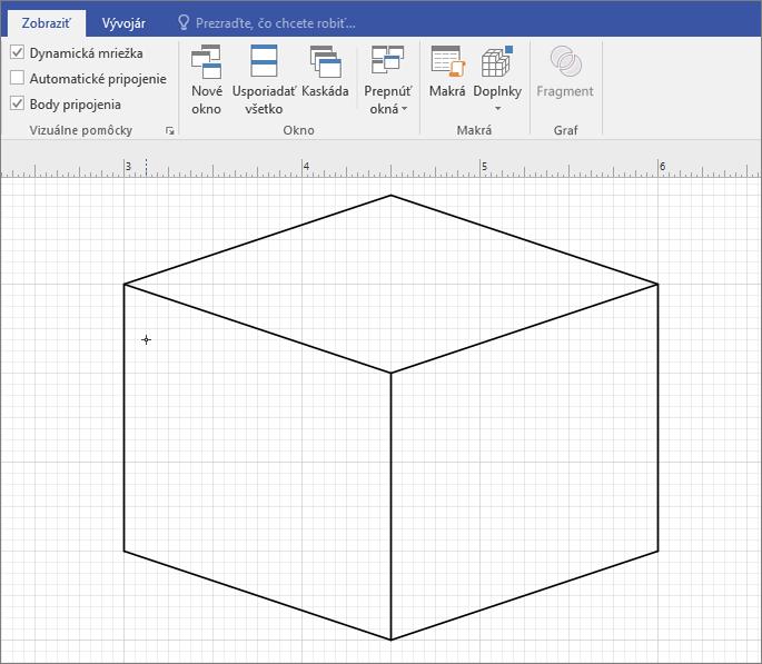 Nakreslite tvar manuálne pomocou nástroja na kreslenie čiar.
