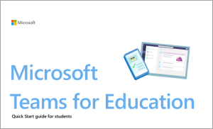 Obrázok zariadení s otvorenou aplikáciou Microsoft Teams