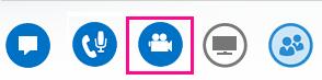 Snímka obrazovky s ikonou kamery